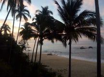海滩墨西哥 库存照片