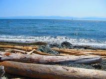 海滩维多利亚岛 免版税库存图片