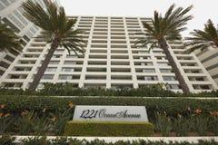 1221海洋大道公寓 免版税图库摄影