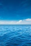 海洋天际 图库摄影