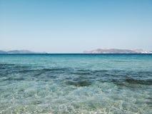 海洋天际 免版税库存图片