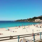 海滩天 免版税图库摄影