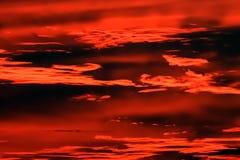 海洋太平洋日落 免版税图库摄影