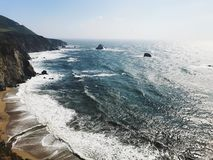 海洋太平洋 免版税库存图片