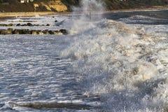 海滩失败的通知 库存照片