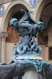 海洋妖怪的喷泉 免版税图库摄影