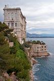 海洋学摩纳哥的博物馆 图库摄影