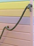 海滩小屋细节, Whitstable 免版税库存照片