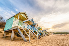 海滩小屋 库存照片