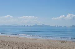 海滩小径码头海运 免版税库存图片