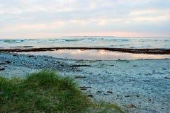 海滩小径码头海运 库存图片