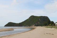 海滩山 库存照片