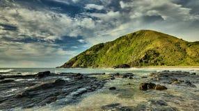 海滩岩石- Salika野生生物储备 库存图片