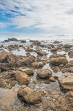 海滩岸 库存照片