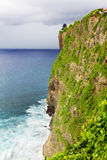 海滩峭壁, Uluwatu,巴厘岛 库存照片