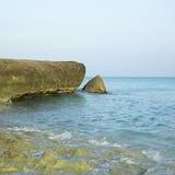 海洋峭壁 免版税库存照片