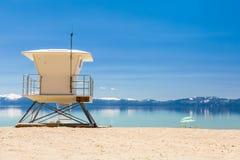 海滩巡逻驻地 库存照片