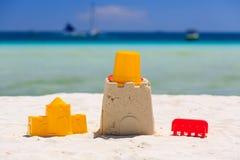 海滩开玩笑沙子玩具 库存图片