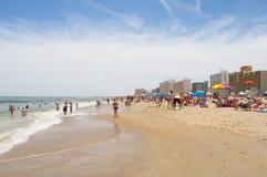 海滩弗吉尼亚 免版税库存图片