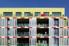 海藻房子在汉堡,德国 库存照片