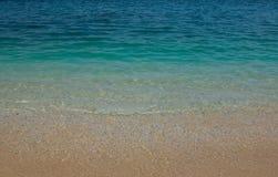海洋抽象背景或纹理 免版税库存照片