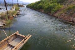 海水排水设备 免版税库存照片