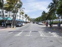 海洋推进大道,迈阿密佛罗里达 免版税库存图片