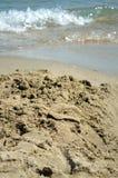 海滩摘要 免版税库存图片