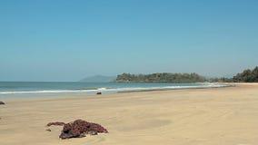 海滩日空晴朗 影视素材