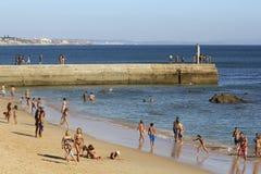 海滩时间 免版税图库摄影