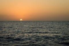 海滩普埃尔托巴利亚塔在2月 库存图片