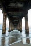 海滩曼哈顿码头 免版税库存照片