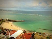 海滩最佳的看法  免版税库存照片