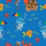 海洋样式 图库摄影