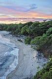 海滩格斯达里加 库存照片