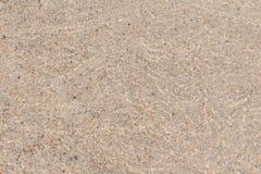 海滩沙子和海石头 库存图片