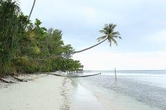 海滩沙子热带白色 图库摄影