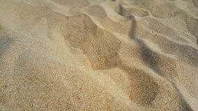 海滩沙子背景 免版税库存照片