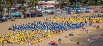 海滩波多里哥 免版税库存照片