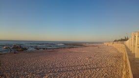海洋波尔图葡萄牙视图 免版税库存照片