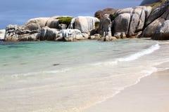 海滩波浪 免版税图库摄影