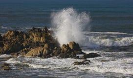 海洋波浪  图库摄影