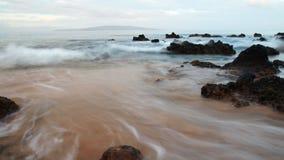 海洋流逝 库存图片