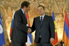 黑海经济合作会员国的组织的外交事务大臣会议的第35次会议  免版税库存照片