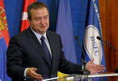 黑海经济合作会员国的组织的外交事务大臣会议的第35次会议  图库摄影