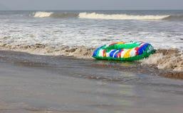 海滩浮游物 免版税图库摄影