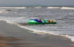 海滩浮游物 库存图片