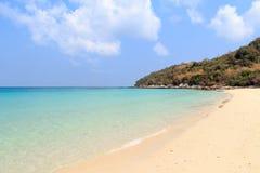 海滩海岛在芭达亚 库存图片