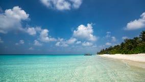 海滩海岛天堂理想热带 库存照片