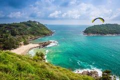 海滩海岛kata普吉岛泰国 库存图片